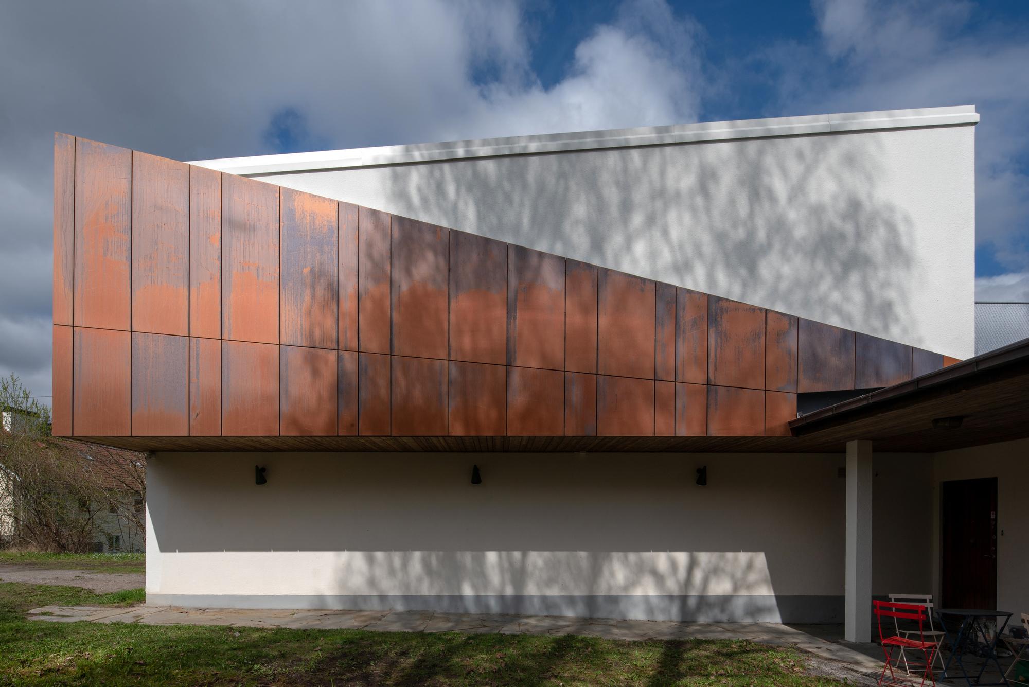 Architecte Le Mans cyclops house / mans tham arkitektkontor | archdaily