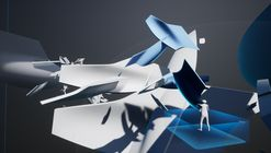 """Zaha Hadid's """"Project Correl"""" Exhibition Allows Visitors to Build a Virtual Structure Over Time"""