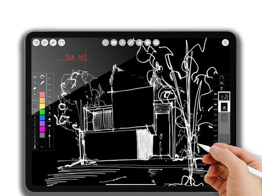 Luis Esteves, Esteves Arquitectos.Aguascalientes, MX. @esteves_arquitectos. Image via Morpholio