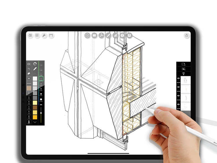Architects and the New iPadPro: Should You Buy One?, Max Mekhovnikov, The Walls Technology. Moscow, Russia. @thewallstechnology. Image via Morpholio