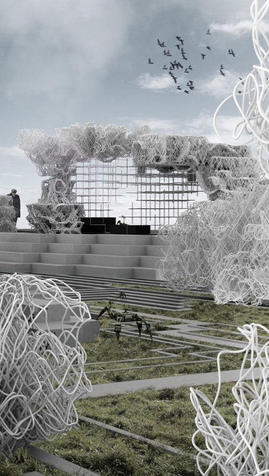 Second Prize: Embodied Homeostasis / David Stieler. Image via Laka