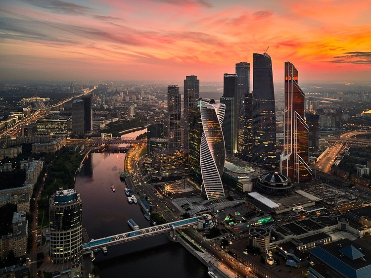 Moscow Launches New Smart City District as a Living Lab, Moscow. Image via Creative Commons
