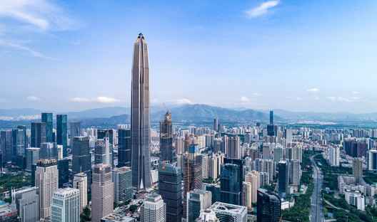 Shenzhen recieved the largest number of new tall buildings.. Image © Tim Griffith