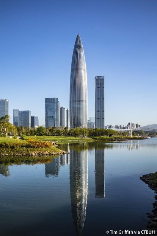 China Resource Tower. Image © Tim Griffith via CTBUH