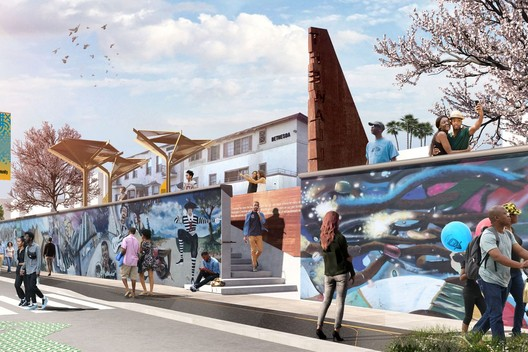 Destination Crenshaw. Image Courtesy of Perkins + Will