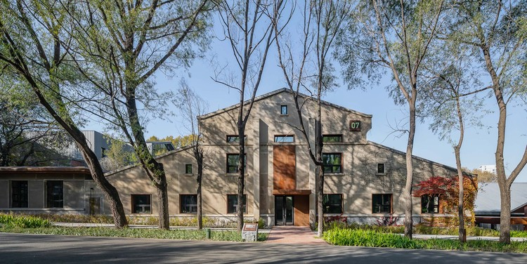 Changchun Culture of Water Ecology Park  / W&R GROUP, Cultural Memory of Industrial Heritage_Store time in the building. Image © Shuang Pan
