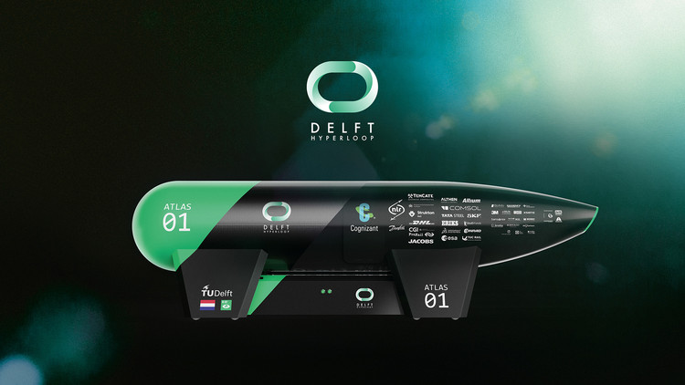 TU Delft Students Design a Hyperloop Pod That Contributes Promising Hyperloop Innovation, Courtesy of Delft Hyperloop
