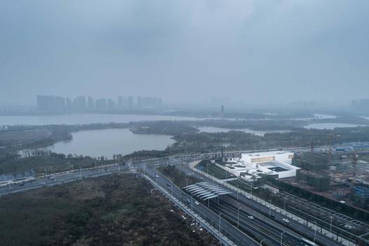 Northwest side birdview. Image © Xingzhi Architecture