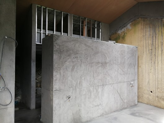 Partition Construction Site. Image Courtesy of gad • line+ studio