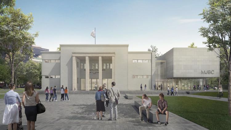¿Cómo será la nueva ampliación del Museo Nacional de Bellas Artes en Rosario?, Imagen Exterior