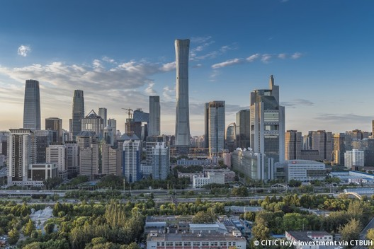 CITIC Tower in Beijing. Image © CITIC Heye Investment