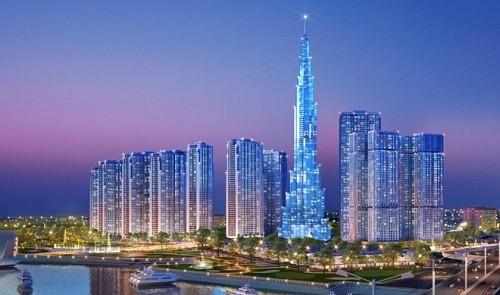 the Vincom Landmark 81 is now the tallest building in Vietnam. Image © Vingroup