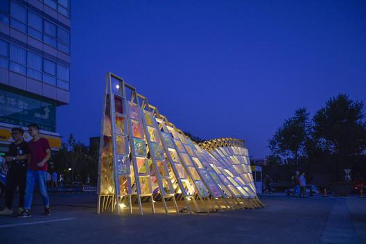 Exhibition. Image © Wei Kang, Kexin Li, Xinyuan Cai, Yufei Shi