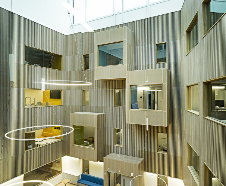 Hospital Haraldsplass / C.F. Møller Architects, © Joergen True