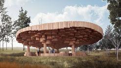 Francis Kéré projeta pavilhão de madeira para o Tippet Rise Art Center