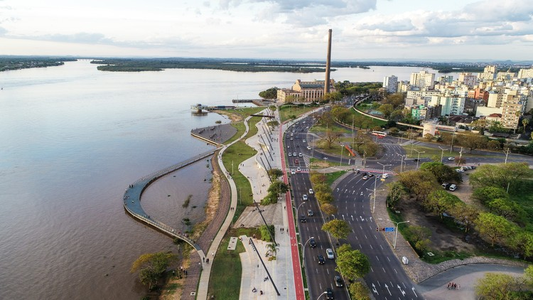 Parque Urbano Da Orla Do Gua 237 Ba Jaime Lerner Arquitetos