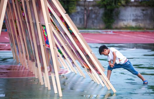 Hi Ladders High Qijun. Image © Wei Kang, Kexin Li, Xinyuan Cai, Yufei Shi