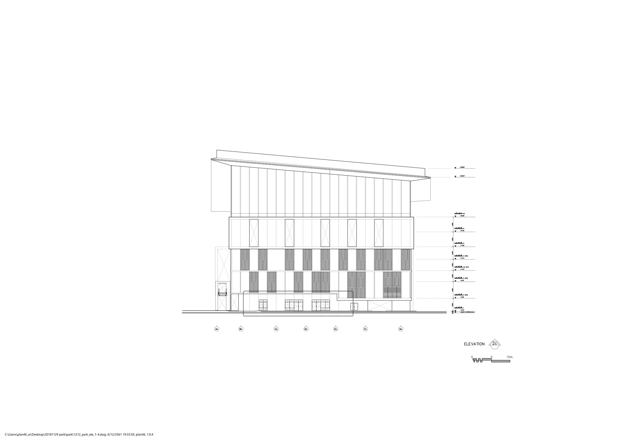 Gallery of Cat New Headquarter Office Building / Plan