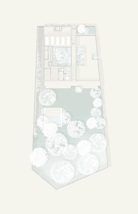 Upper Floor Plan - Color