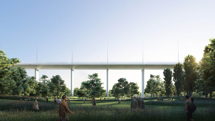 Renzo Piano Designs New Genoa Bridge after Disaster, Courtesy of Renzo Piano Building Workshop