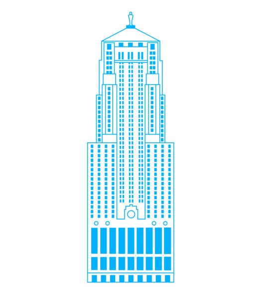 Chicago Board of Trade Building, 1930. Image Courtesy of ORBITZ