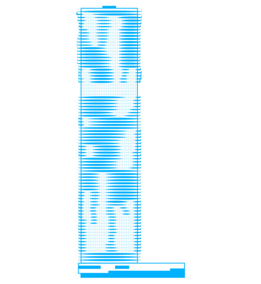 Aqua Tower, 2009. Image Courtesy of ORBITZ
