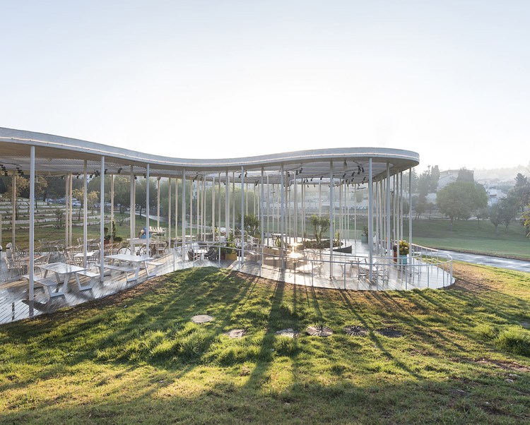 Sacher Park Cafe / Yaniv Pardo Architects, © Amit Gosher
