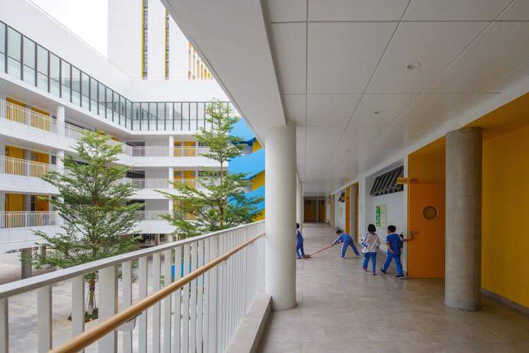 Longyuan School Zhubo Aao H Design Archdaily