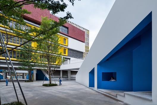 Public space. Image © Qingshan Wu