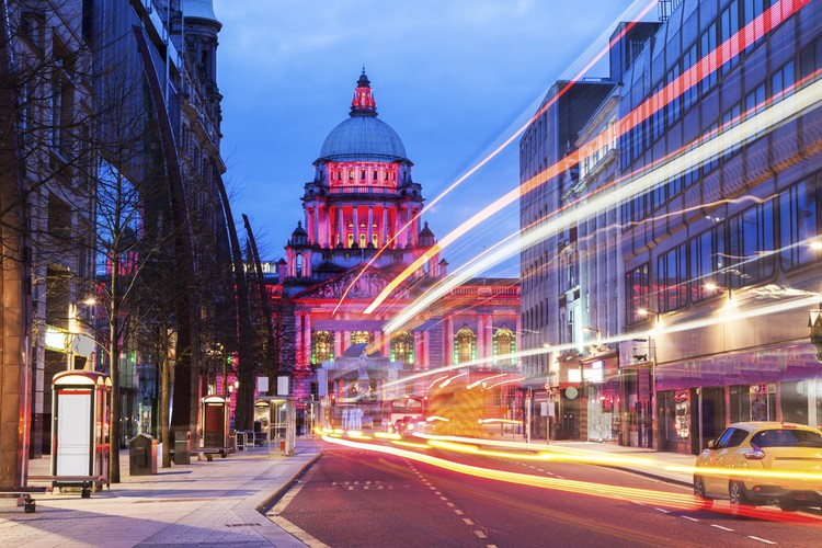 An Architectural Guide to Belfast: 20 Unmissable Sites in Northern Ireland's Capital, Belfast City Hall. Image © Shutterstock
