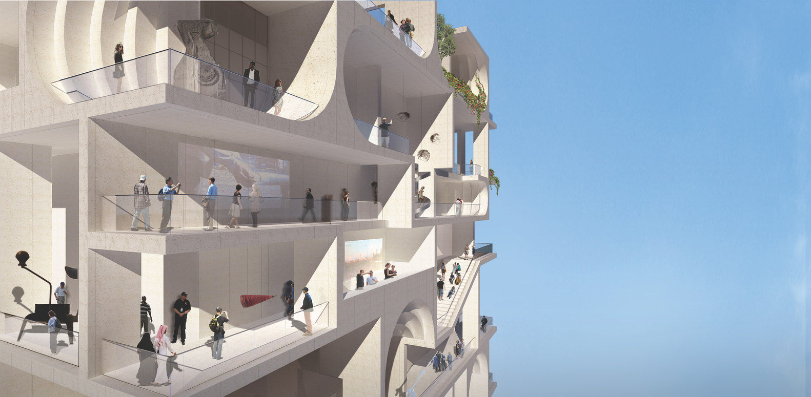 Gallery of WORKac Selected to Design the New Beirut Museum of Art - 5