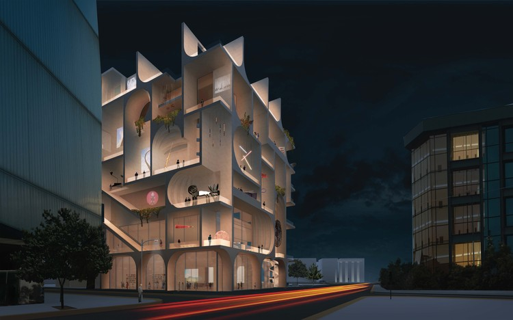 WORKac Selected to Design the New Beirut Museum of Art, BeMA: Beirut Museum of Art. Image Courtesy of WORKac