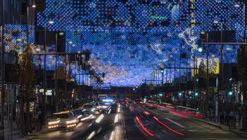 """""""Lucía in the sky"""" ilumina la Gran Vía de Madrid para esta Navidad"""