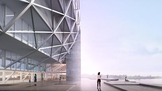 Feyenoord Stadium. Image Courtesy of OMA