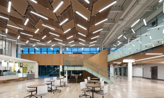The Joyce Centre for Partnership & Innovation. Image © Ema Peters via B+H Architects