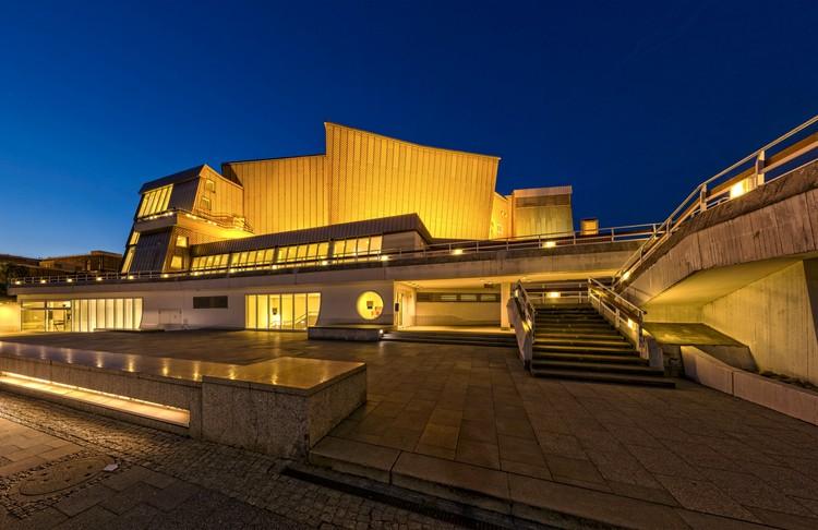 Hans Scharoun: arquitectura, espacio e imaginación, Filarmónica de Berlín [1956-63]. Image © Ansgar Koreng [Flickr bajo licencia CC BY-NC 2.0]