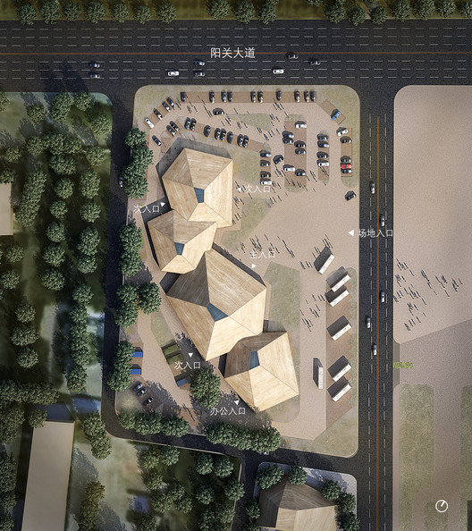 Rendering. Image Courtesy of BIAD -  ZXD ARCHITECTS