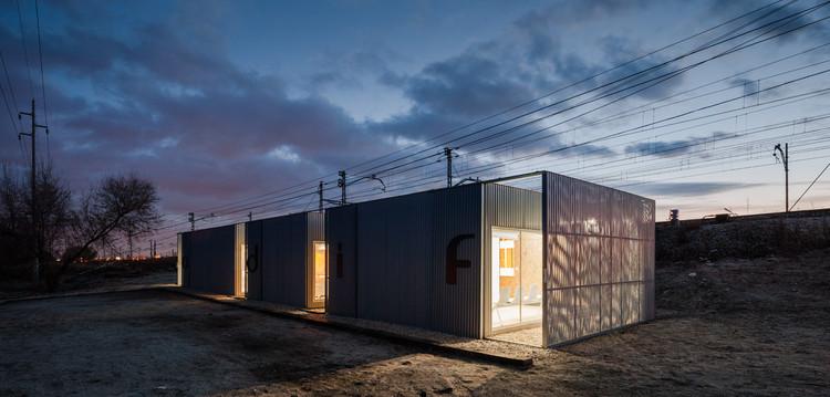 Base de Mantenimiento Ferroviario de Las Matas / Estudio Astiz, © Fernando Alda