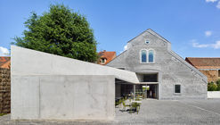 Mercado y espacio de exposición en Schiltigheim / Dominique Coulon & associés