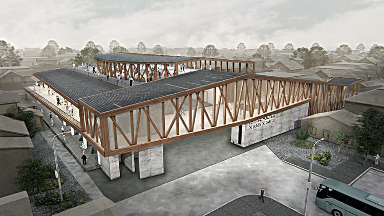 Biourban Arquitectos diseñará el terminal más grande de la isla de Chiloé en Chile, Cortesía de Biourban Arquitectos