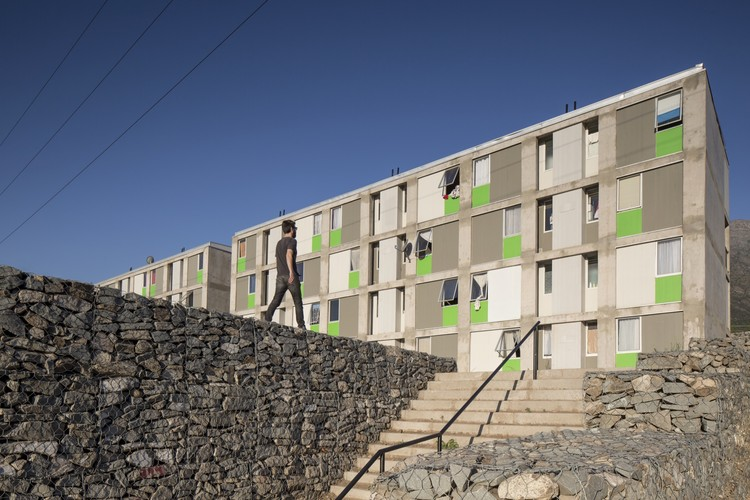 Las Perdices Social Housing / Gubbins Arquitectos, Polidura + Talhouk Arquitectos, © Aryeh Kornfeld