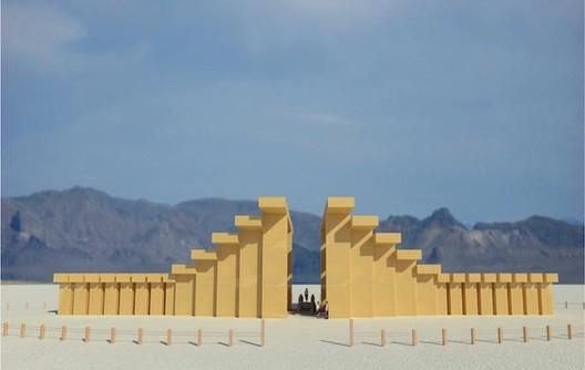 2019 Temple. Image © Geordie Van Der Bosch, courtesy of Burning Man.