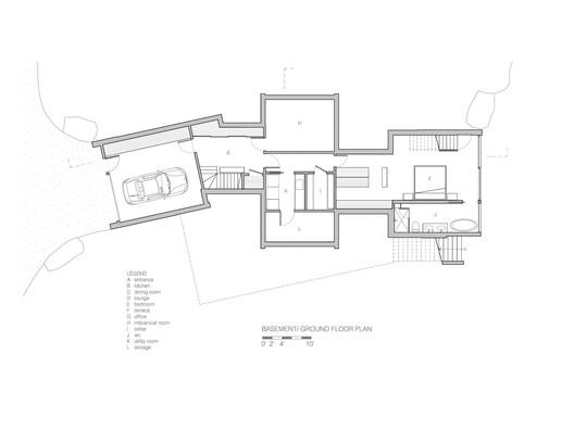 Basement & Ground floor Plans
