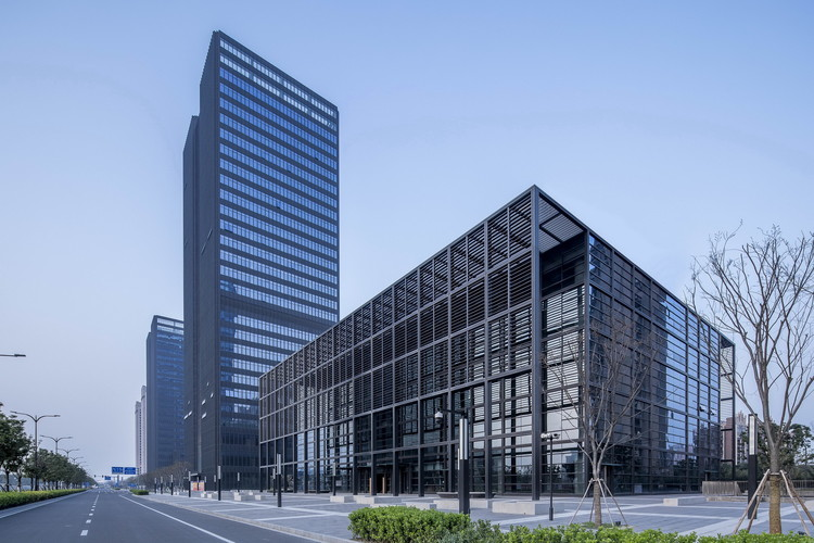 Kunshan Financial Street Phase I Complex / FTA Group GmbH, © Real Estate Frontier