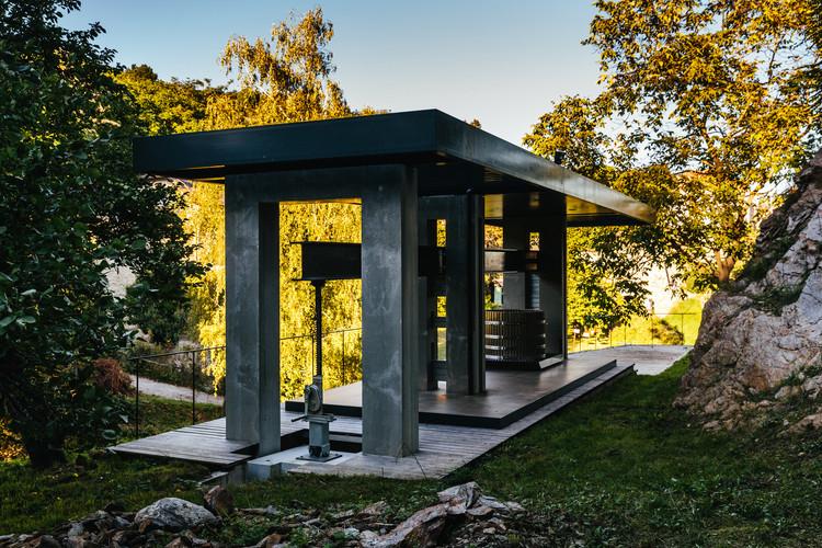 HM Lang Wine Press  / Tzou Lubroth Architekten, © Bengt Stiller