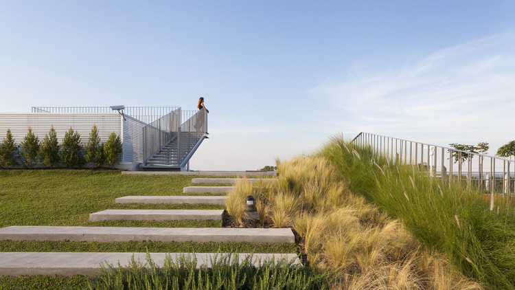 Rooftop Park Rdr Arquitectos Archdaily