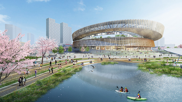 Sasaki Set to Transform Shanghai's Hongkou Stadium, Hongkou Stadium. Image Courtesy of Sasaki
