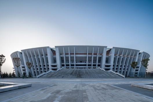 East side of the Stadium. Image © Qingshan Wu