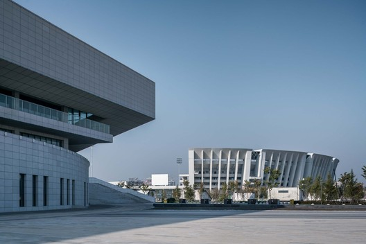 Olympic sports center. Image © Qingshan Wu