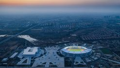 Olympic Sports Center Of Pingdu Qingdao / Shanghai Jiao Tong University Urban Planning & Architectural Design Co.Ltd